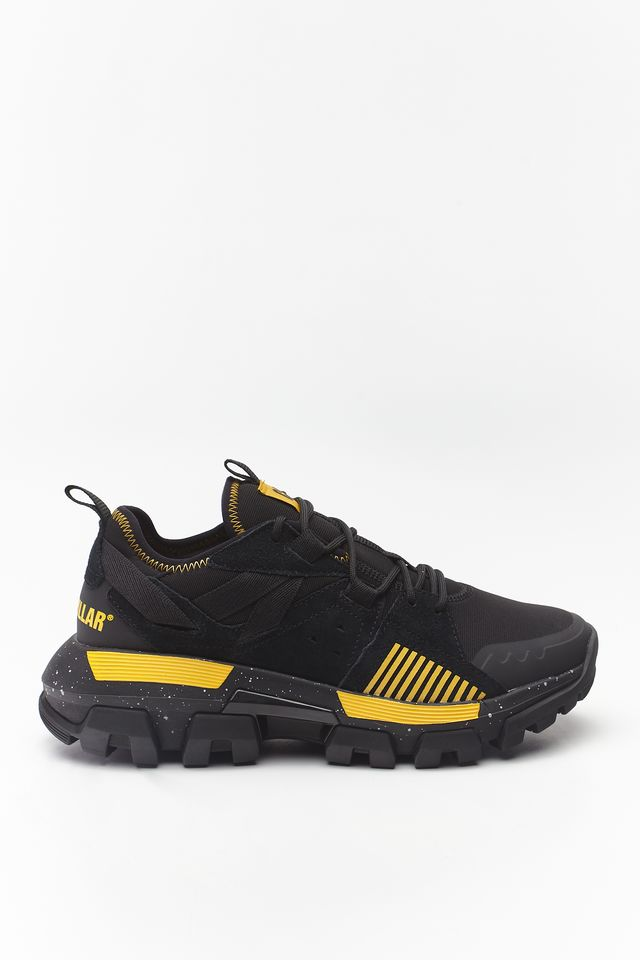 BLACK/CAT YELLOW RAIDER SPORT 513