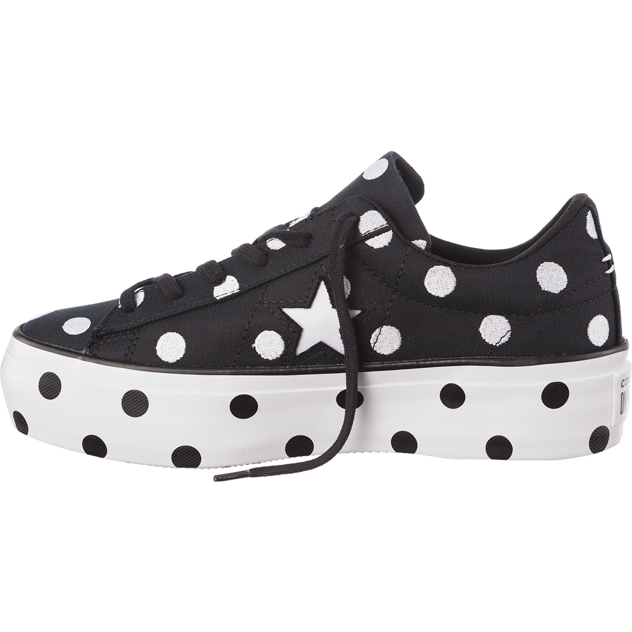 Buty Converse  <br/><small>C560695 ONE STAR PLATFORM BLACK/WHITE/WHITE </small>