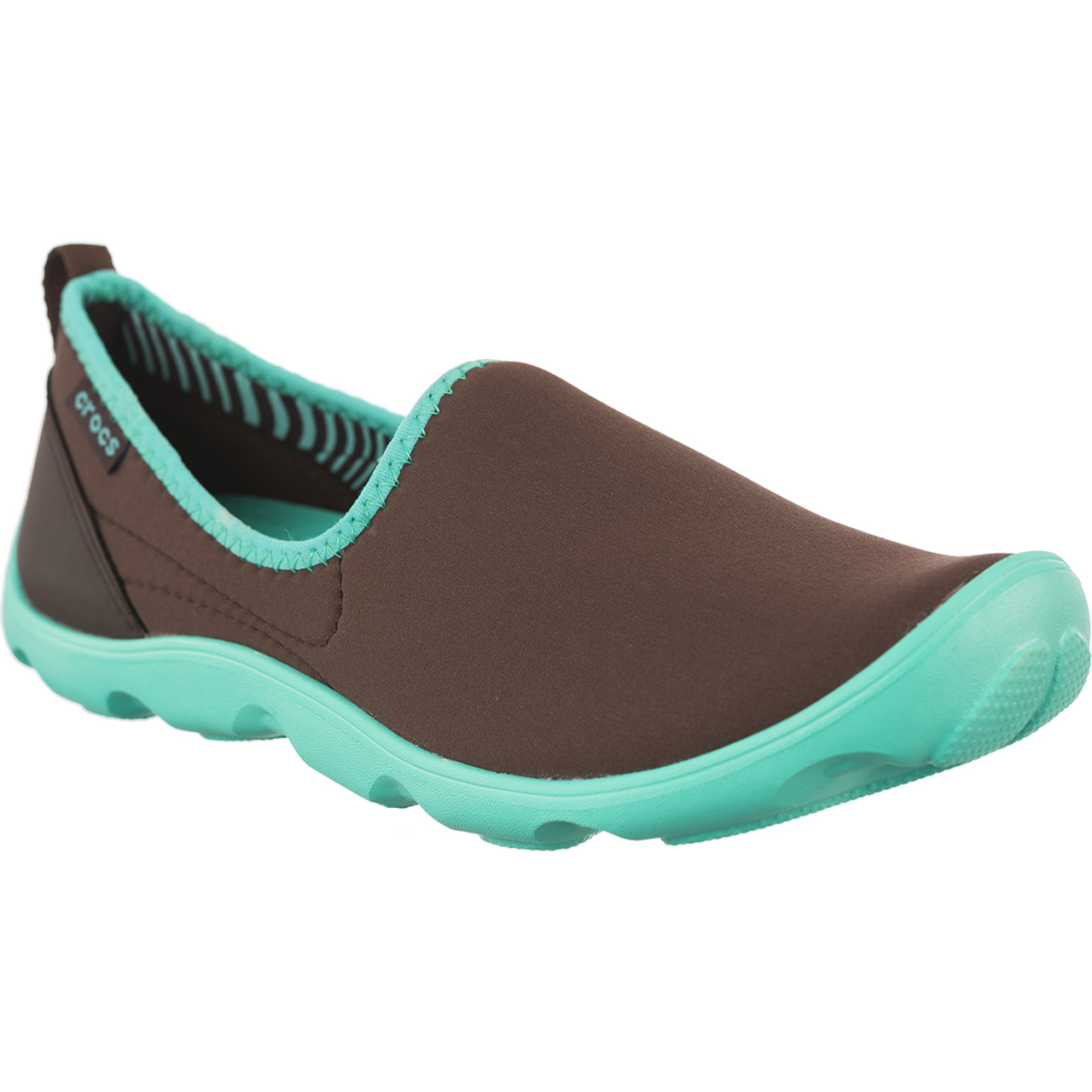 Buty Crocs  <br/><small>Duet Busy Day Skimmer W Espresso Island Green </small>  14698-2A8