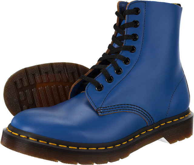 6cb17db86066e Outdoor Dr. Martens <br/><small>Pascal Blue Vintage Smooth ...
