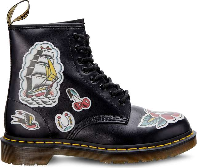 Dr. Martens 1460 CHRIS LAMBERT BLACK/MULTI CHRIS LAMBERT BACKHAND DM24243001