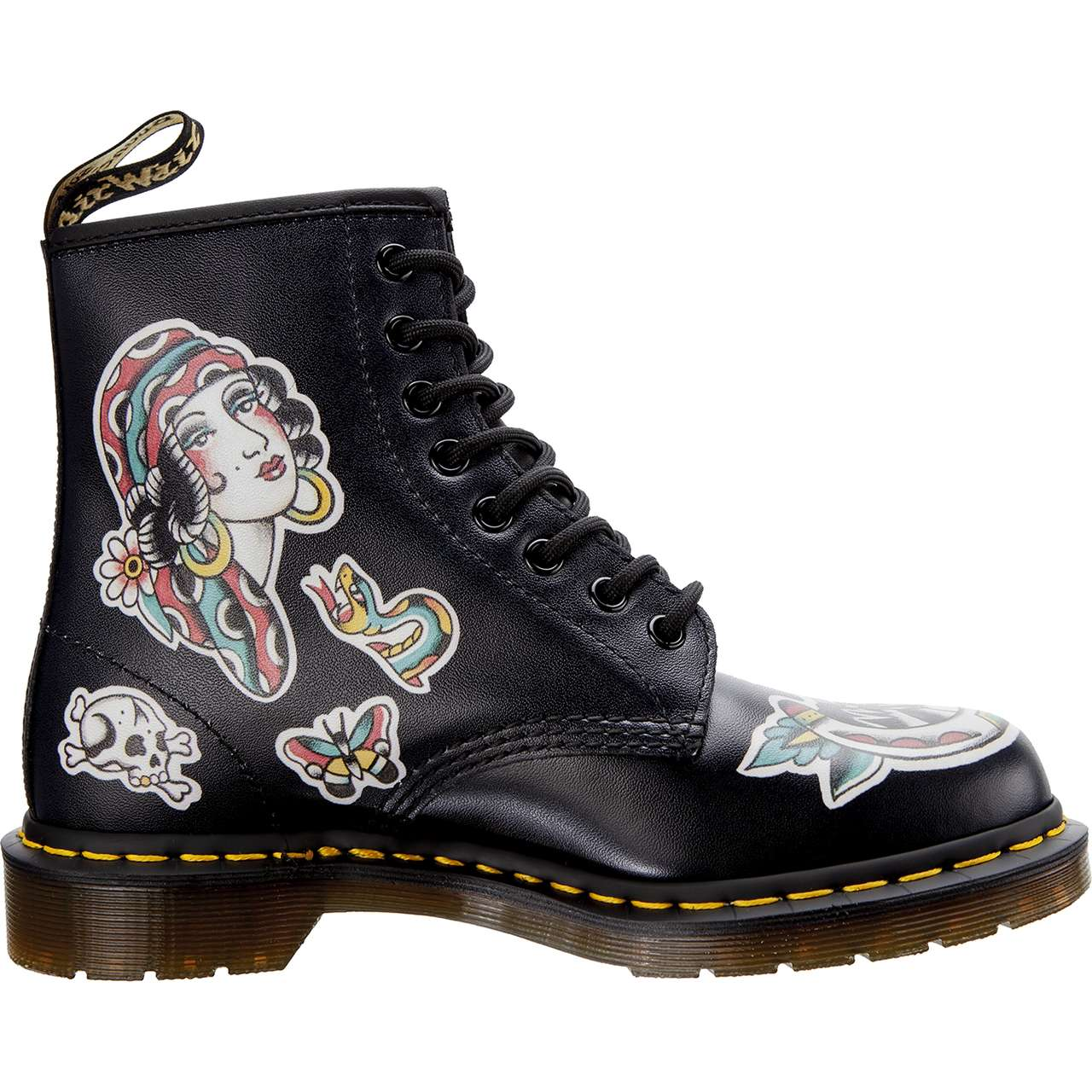 Buty Dr. Martens  <br/><small>1460 CHRIS LAMBERT BLACK/MULTI CHRIS LAMBERT BACKHAND </small>  DM24243001