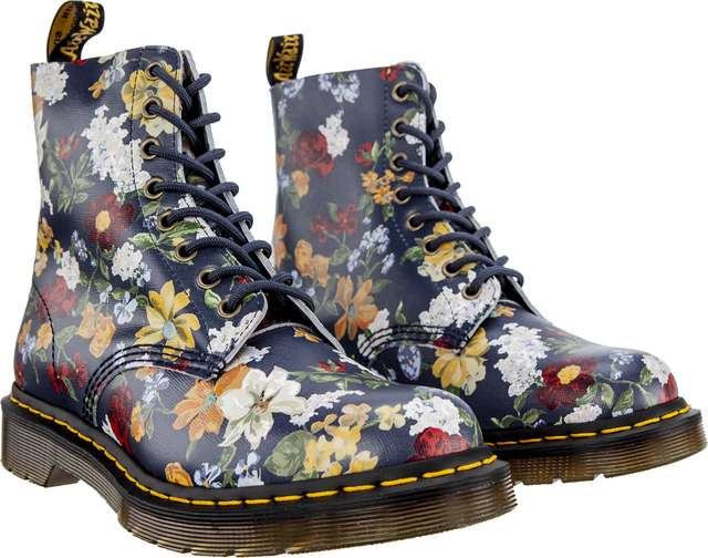 Buty Dr. Martens  <br/><small>DARCY FLORAL 1460 PASCAL DM'S NAVY DARCY FLORAL BACKHAND STRAW GRAIN </small>  DM23876417