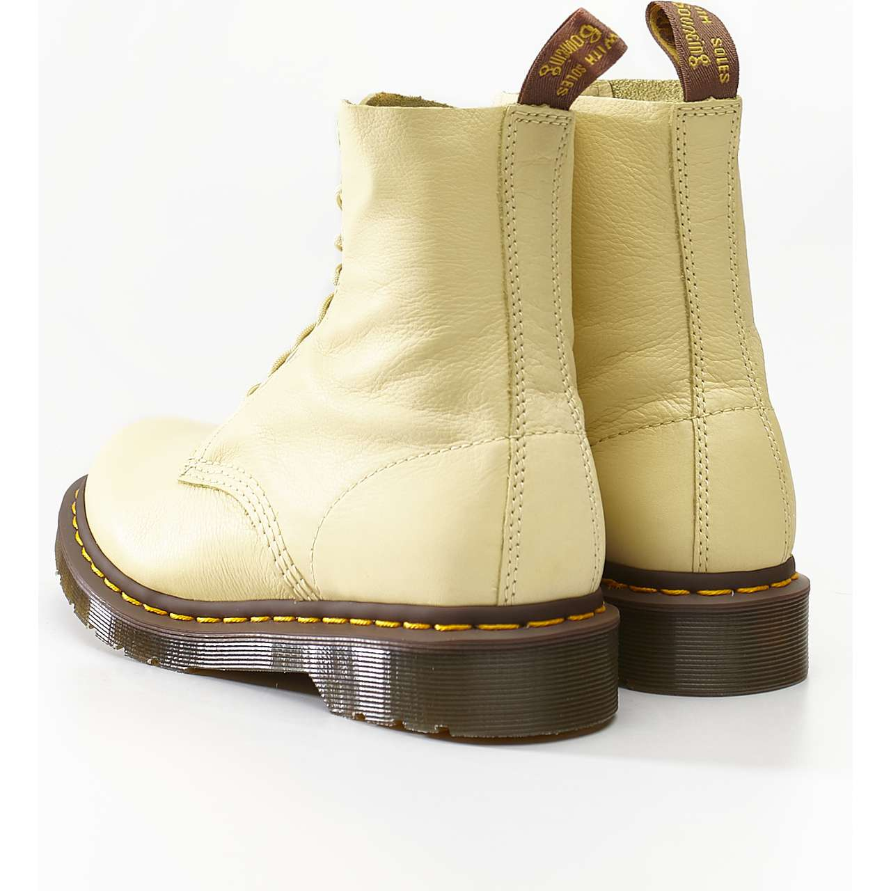 Buty Dr. Martens  <br/><small>1460 PASCAL VIRGINIA PASTEL YELLOW VIRGINIA </small>  DM24482757