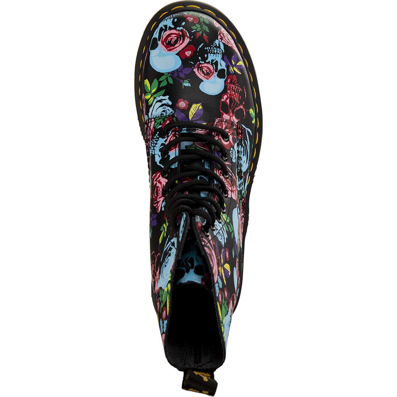 Buty Dr. Martens  <br/><small>1460 PASCAL ROSE MULTI ROSE FANTASY BACKHAND STRAW GRAIN </small>  DM24427102