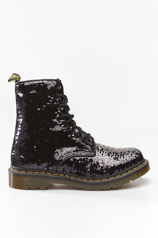 Buty Dr.Martens  <br/><small>1460 PASCAL REVERSIBLE SEQUIN BLACK/SILVER SEQUIN </small>  DM24591016