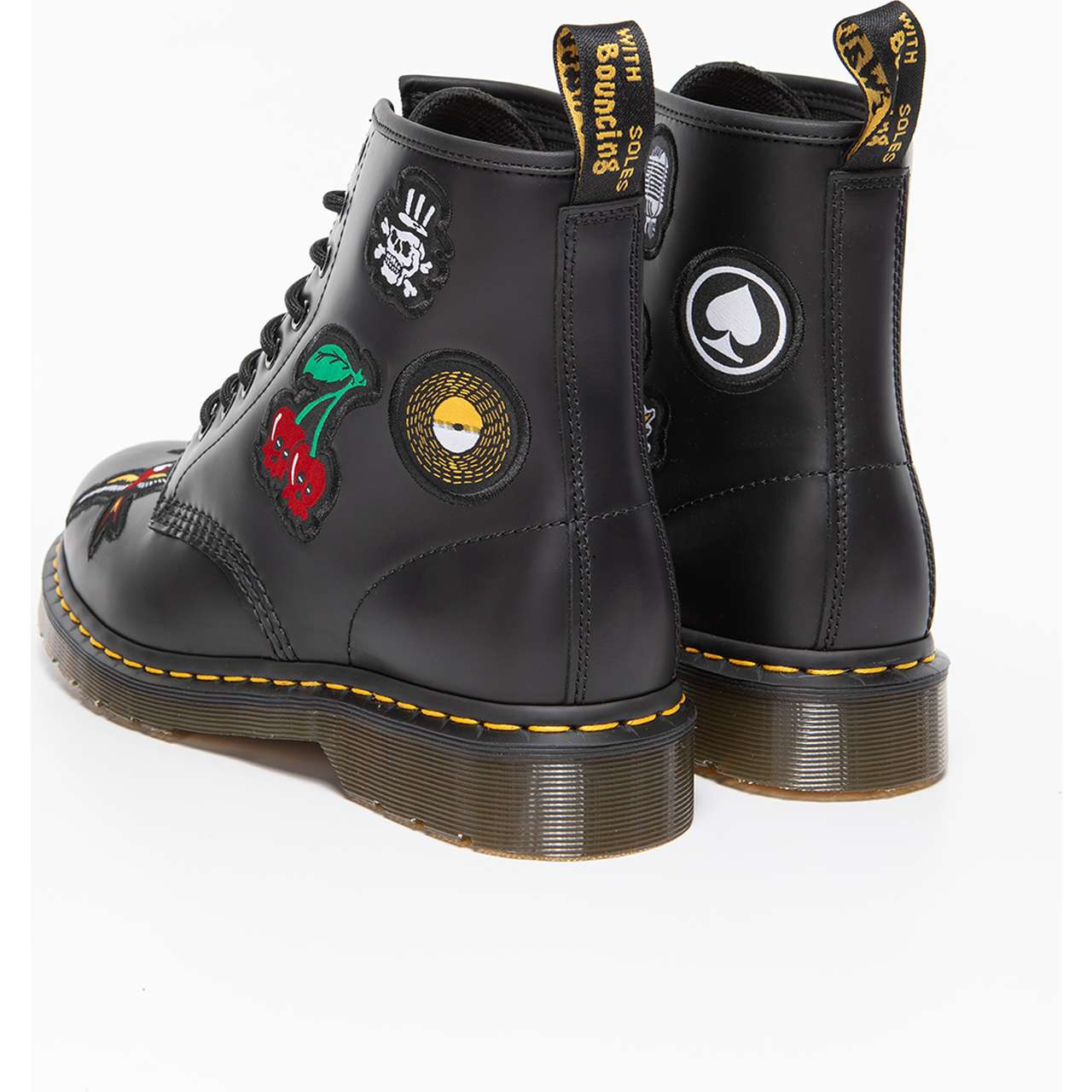 Buty Dr. Martens  <br/><small>1460 SMOOTH PATCH BLACK </small>  DM24436001