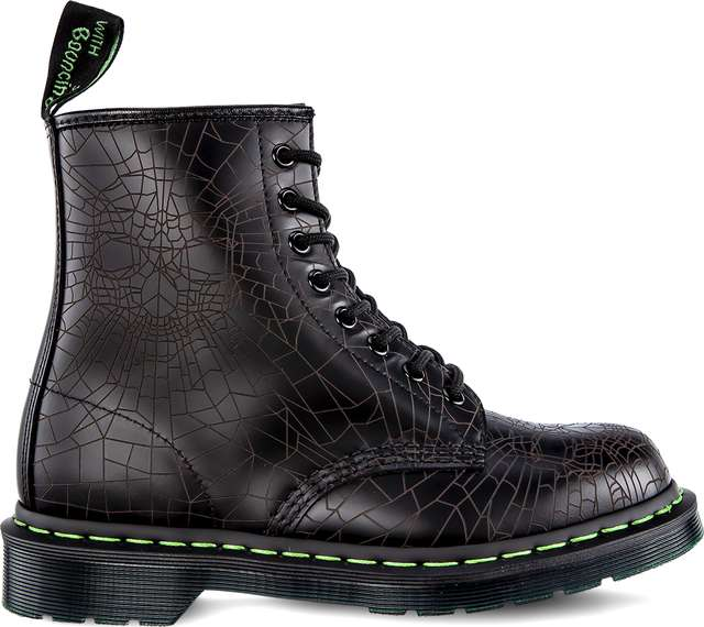 Dr. Martens 1460 SKULL WEB BLACK SKULL WEB SMOOTH DM23901001
