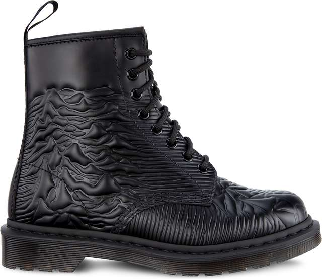 Dr. Martens 1460 UNKNOWN PLEASURES BLACK UNKNOWN SMOOTH DM24302001