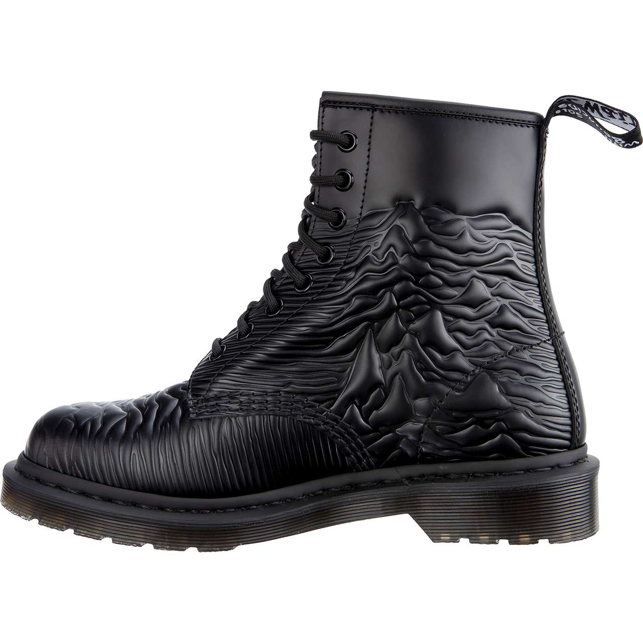 Buty Dr. Martens  <br/><small>1460 UNKNOWN PLEASURES BLACK UNKNOWN SMOOTH </small>  DM24302001