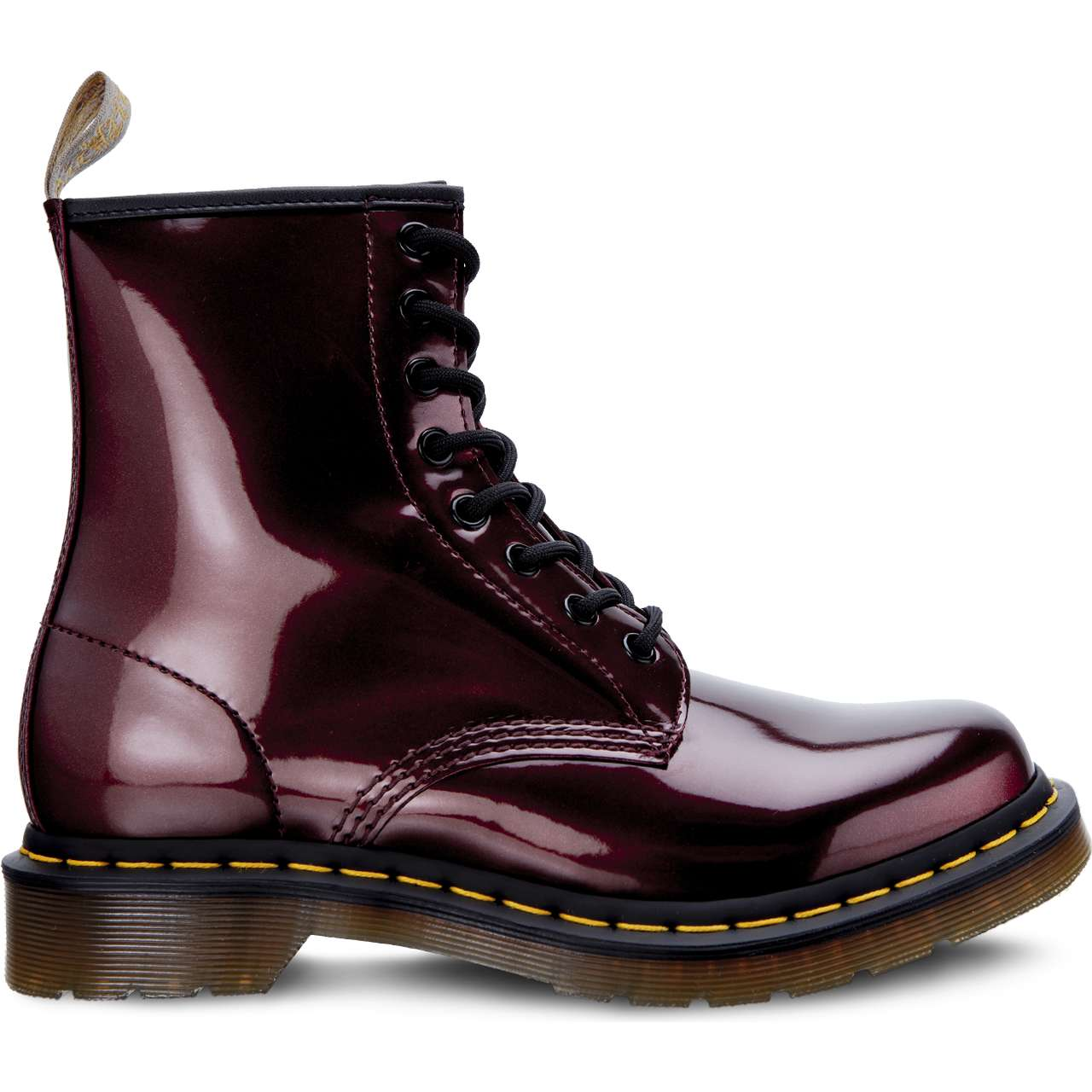 Buty Dr. Martens  <br/><small>VEGAN 1460 CHROME OXBLOOD CHROME PAINT METALLIC </small>  DM23922601