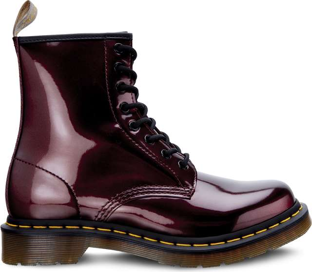 Dr. Martens VEGAN 1460 CHROME OXBLOOD CHROME PAINT METALLIC DM23922601