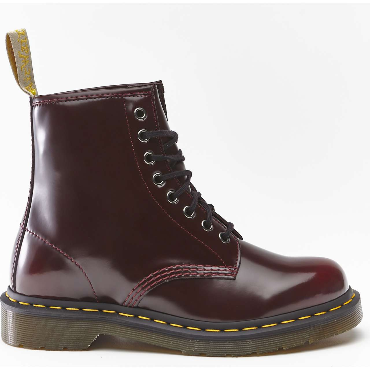 Buty Dr. Martens  <br/><small>VEGAN 1460 CHERRY RED CAMBRIDGE BRUSH </small>  DM23756600