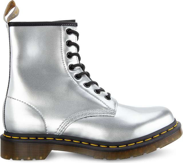 Dr. Martens 1460 Vegan Chrome Silver DM24865040