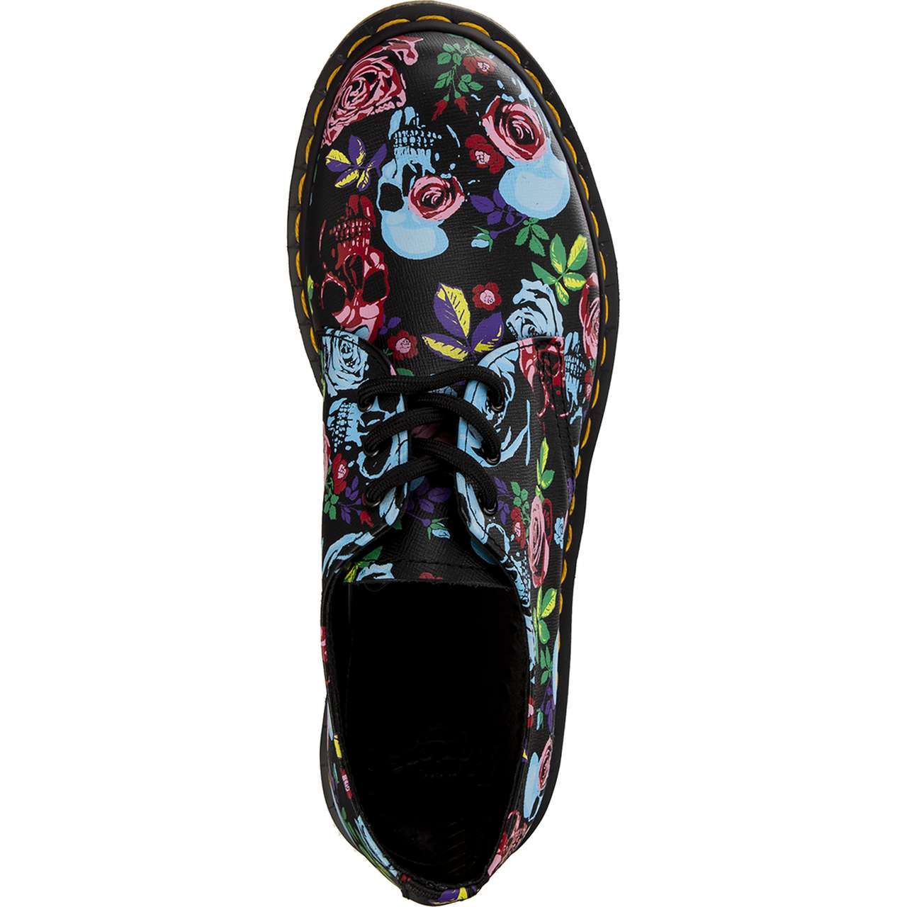 Buty Dr. Martens  <br/><small>1461 ROSE ROSE FANTASY BACKHAND STRAW GRAIN MULTI </small>  DM24428102