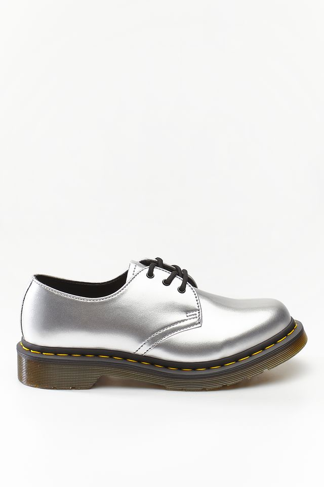 Dr. Martens 1461 VEGAN CHROME SILVER CHROME PAINT METALLIC DM24864040