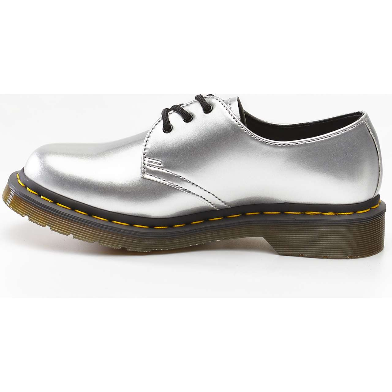 Buty Dr. Martens  <br/><small>1461 VEGAN CHROME SILVER CHROME PAINT METALLIC </small>  DM24864040