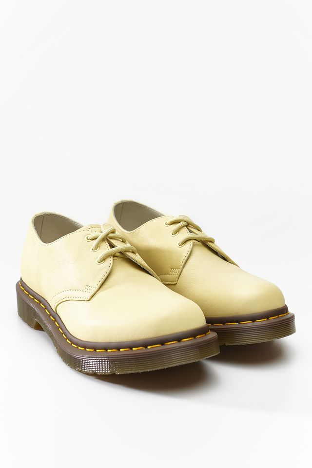 Dr. Martens 1461 VIRGINIA PASTEL YELLOW VIRGINIA DM24481757