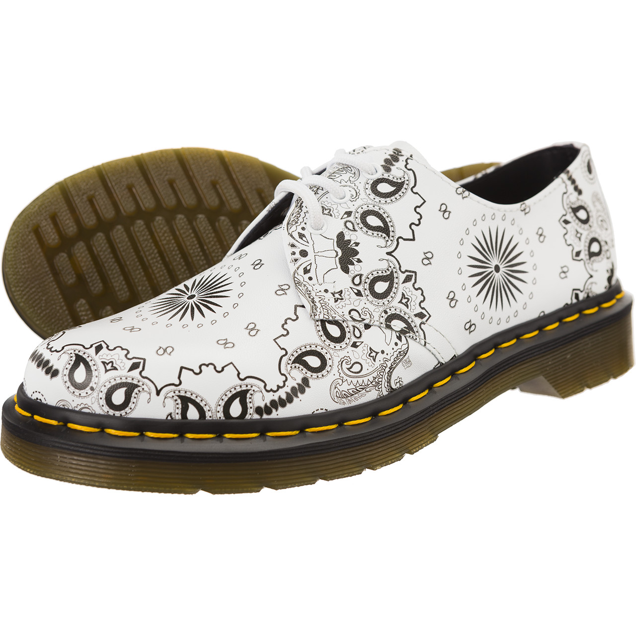 Buty Dr. Martens  <br/><small>1461 White Black Bandana Backhand </small>  21865101