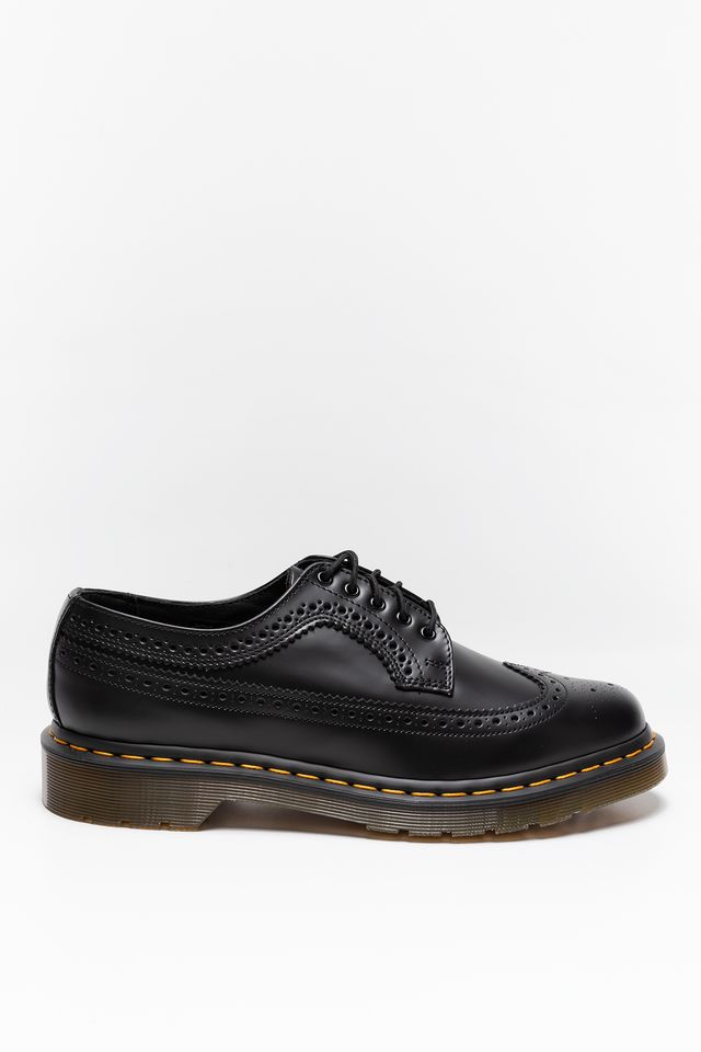 Buty Dr. Martens  <br/><small>3989 BROGUE Black Smooth </small>  22210001