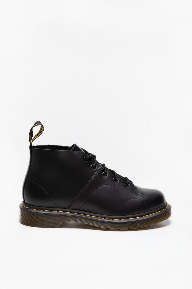 BLACK POLISHED SMOOTH BUTY Monkey Boot BLACK