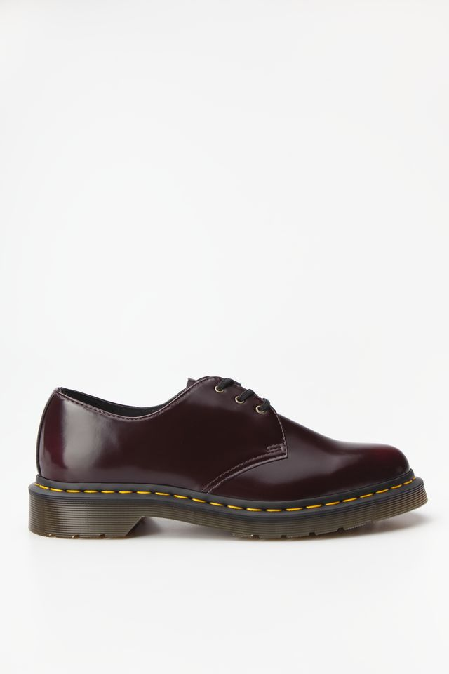Dr. Martens VEGAN 1461 OXFORD BRUSH CHERRY RED DM14046601
