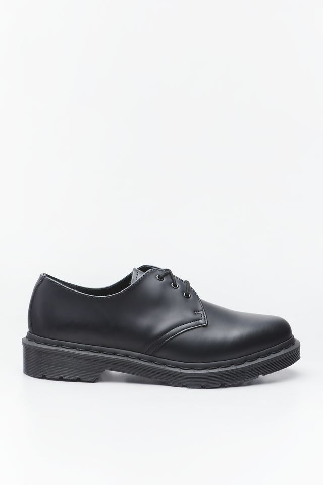 BLACK 1461 MONO SMOOTH LEATHER OXFORD