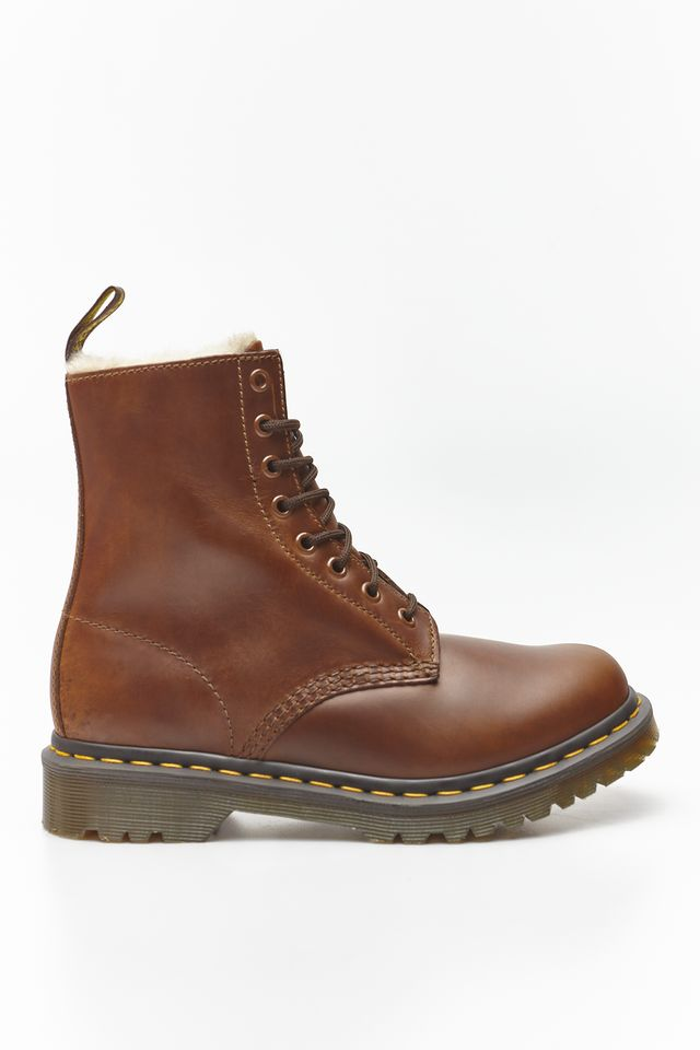 Dr. Martens FUR-LINED 1460 SERENA ORLEANS BUTTERSCOTCH DM23912243