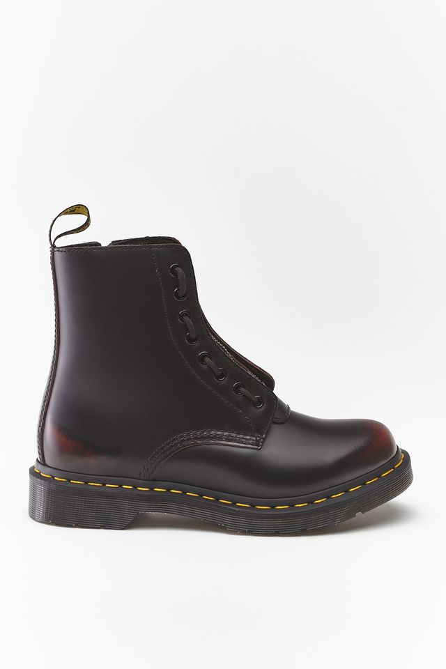 Dr. Martens 1460 PASCAL FRONT ZIP ARCADIA CHERRY RED DM24330600