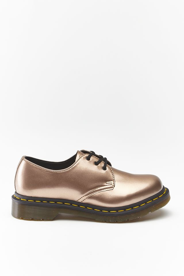 Dr. Martens 1461 VEGAN CHROME PAINT METALLIC ROSE GOLD DM24864716