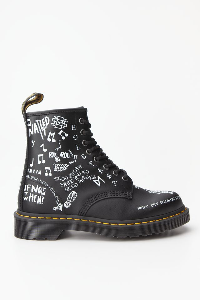 Dr. Martens 1460 SCRIBBLE BLACK DM25245009