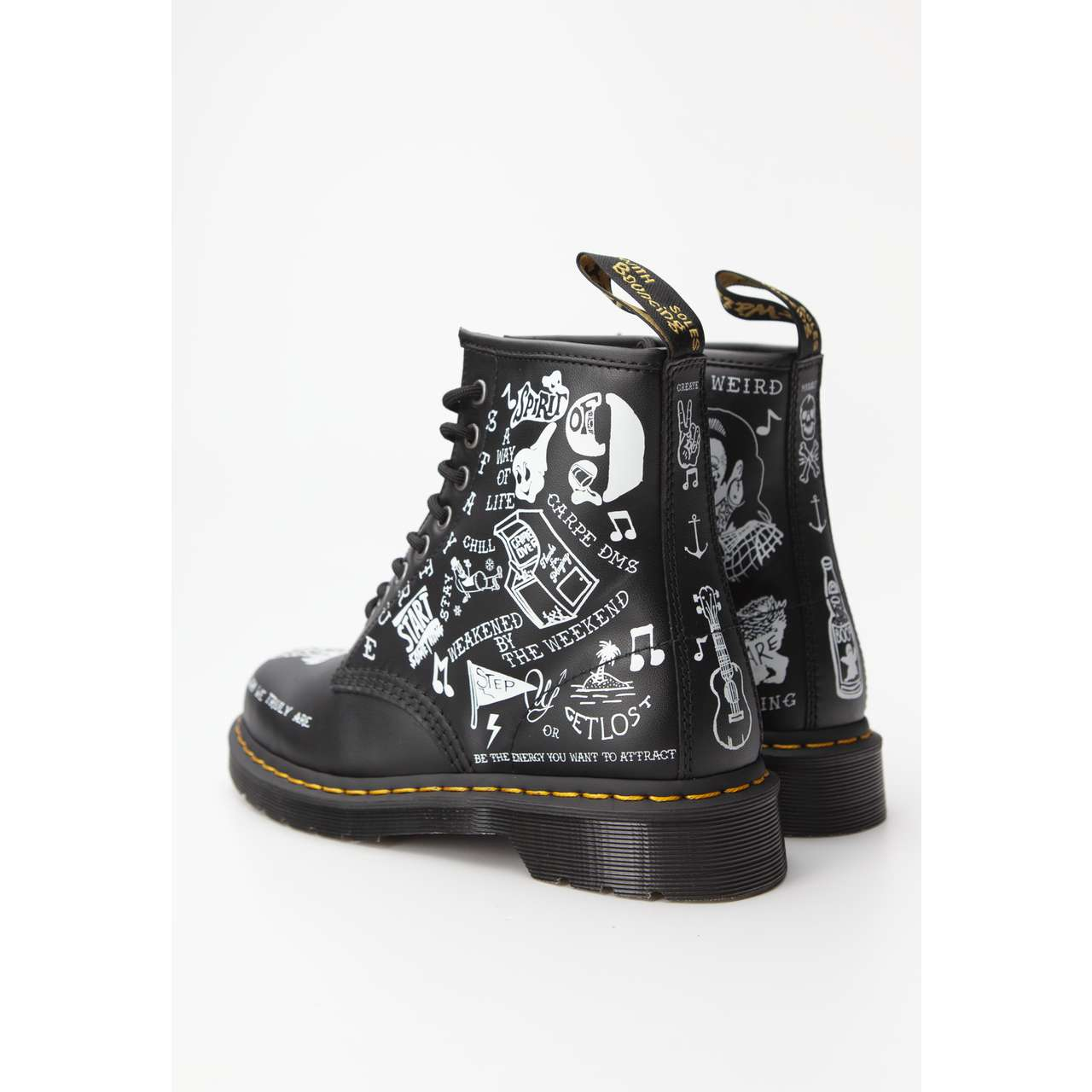 Buty Dr.Martens  <br/><small>1460 SCRIBBLE BLACK </small>  DM25245009