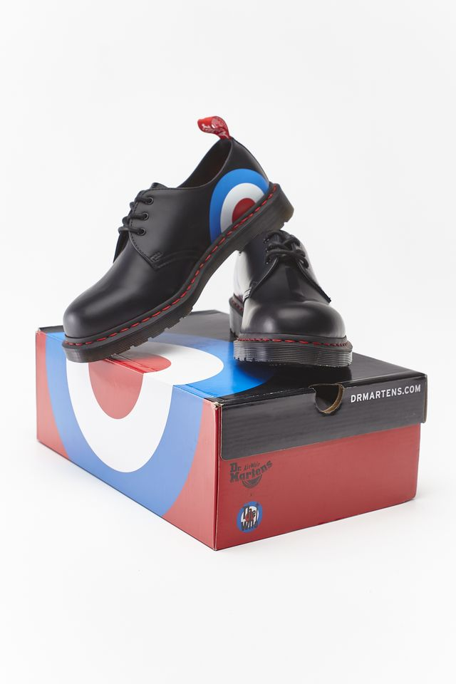 Buty Dr. Martens  <br/><small>THE WHO 1461 BLACK </small>  DM25269001