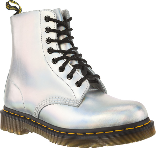 Dr. Martens 1460 Pascal Iced Metallic Silver Lazer 23551073