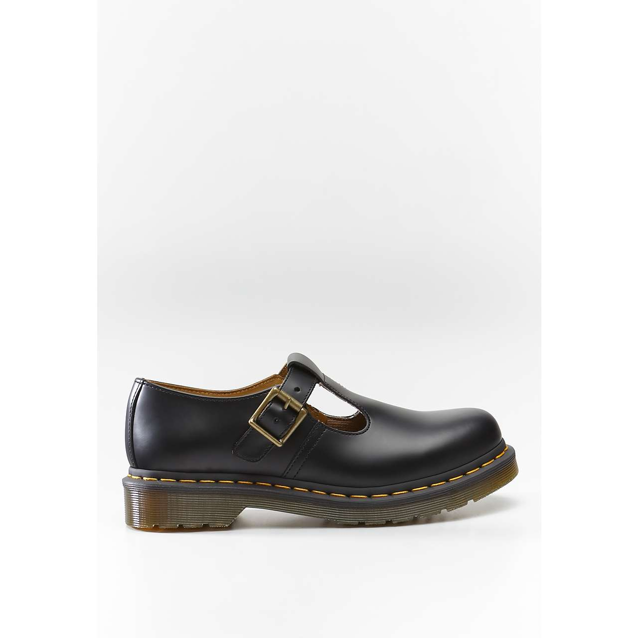 Buty Dr. Martens  <br/><small>Polley Black Smooth </small>  DM14852001