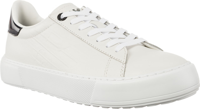 EA7 Emporio Armani CLASSIC FASHION LOW U WHITE 2480058P299-00010