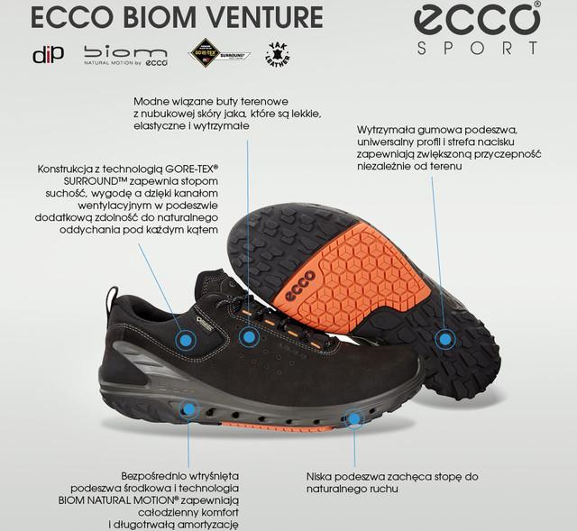 39ae6e15 ... Buty Ecco <br/><small>Biom Venture 052 ...