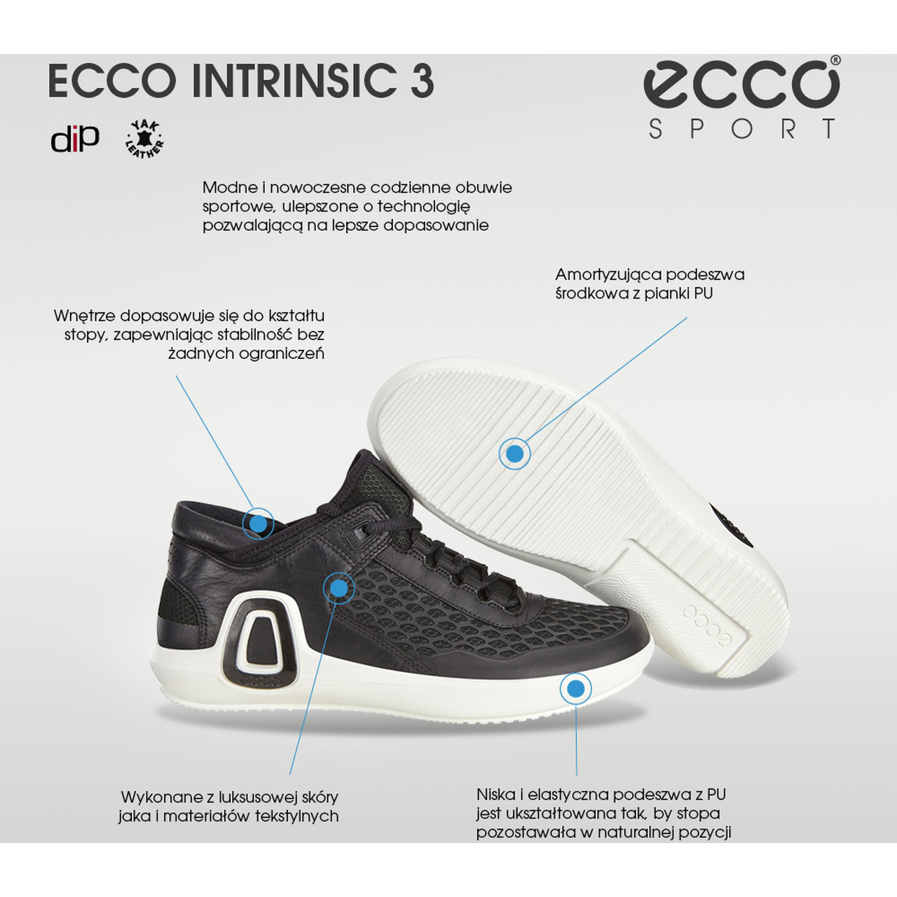 Buty Ecco  <br/><small>Intrinsic 3 83950451052 </small>