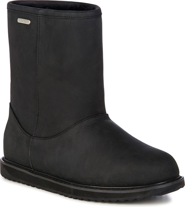 EMU Australia Paterson Classic Leather Lo Black W11620