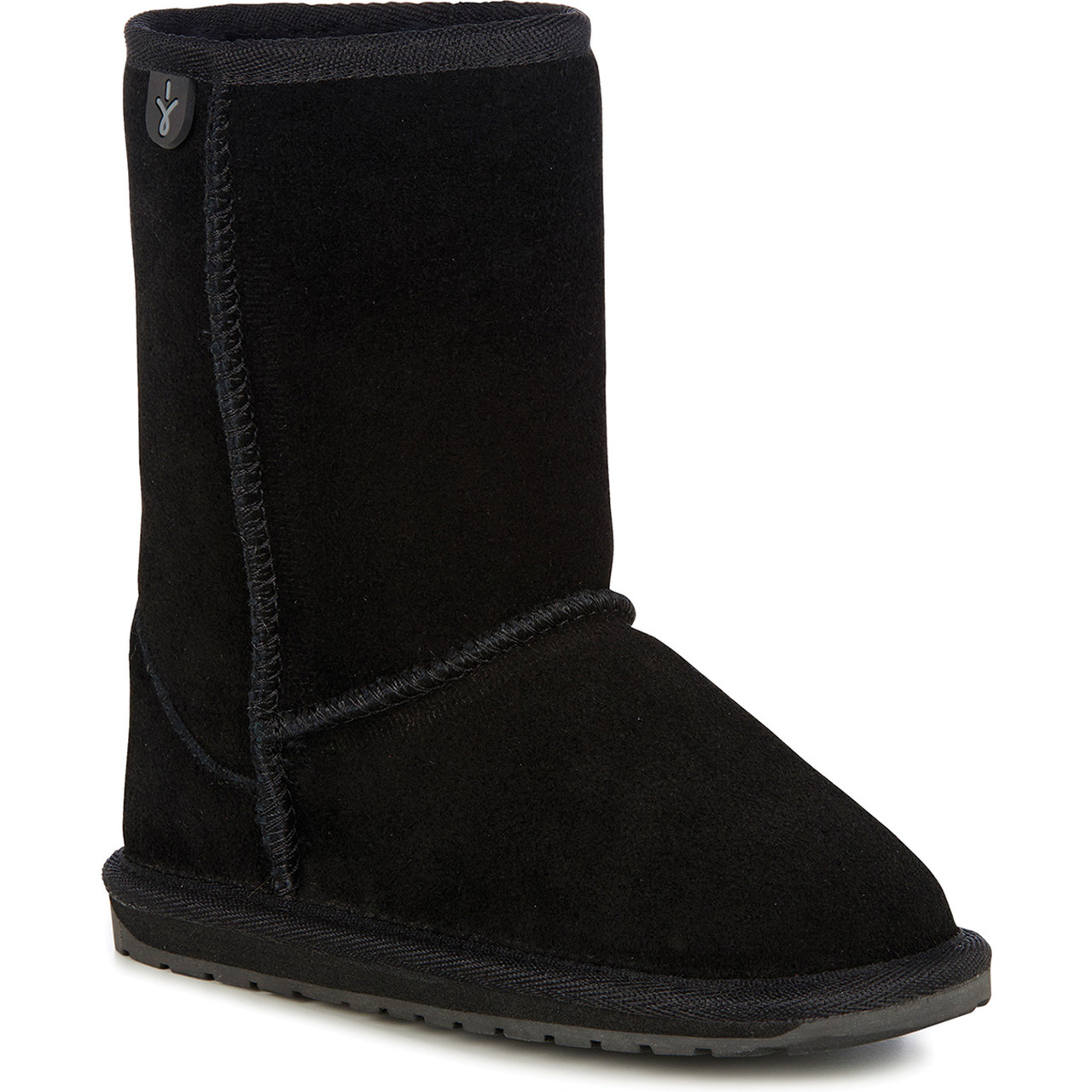 Buty EMU Australia  <br/><small>Wallaby Lo Teens Black </small>  T10102