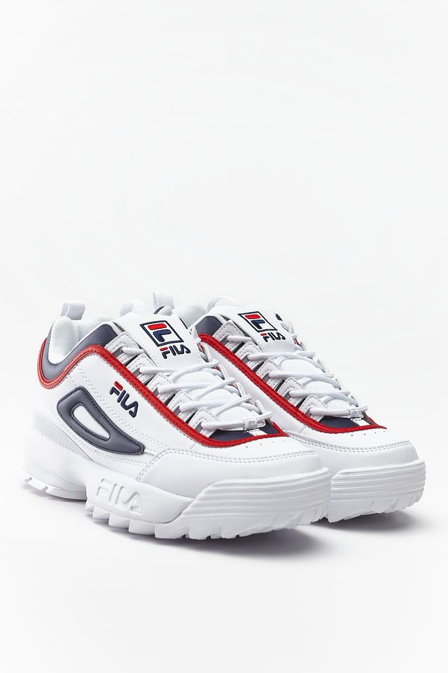 Fila Disruptor CB Low White/Fila Navy/Fila Red 1010575-01M