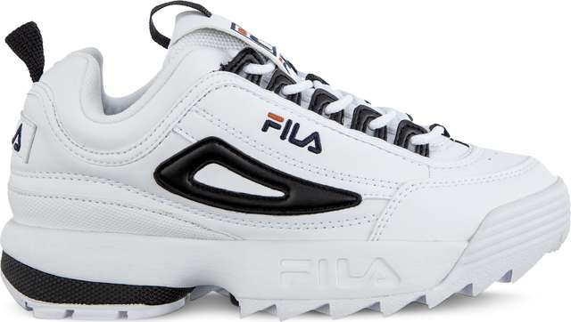 Fila DISRUPTOR CB LOW WMN 00E WHITE/BLACK 1010604-00E