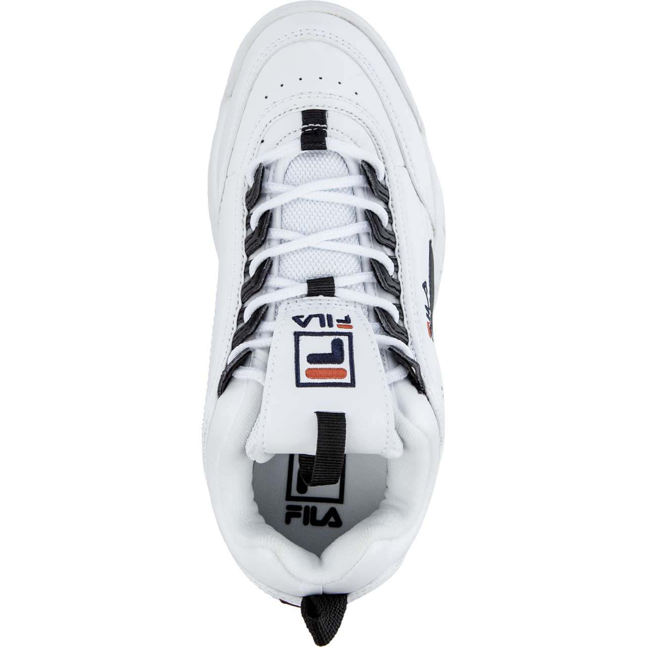 Buty Fila  <br/><small>DISRUPTOR CB LOW WMN 00E WHITE/BLACK </small>  1010604-00E