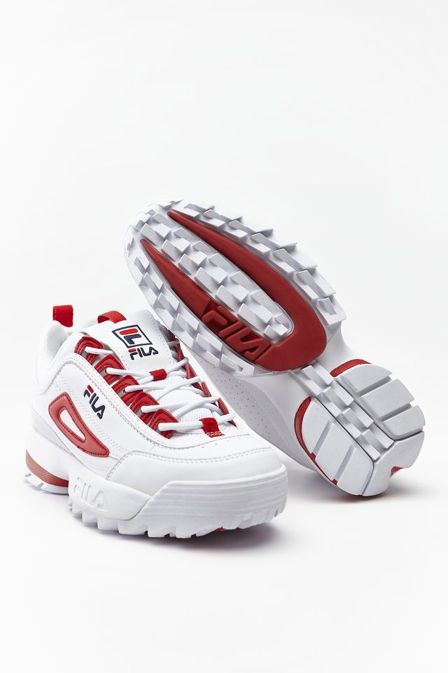 Fila Disruptor CB Low WMN White/Fila Red 1010604-02A