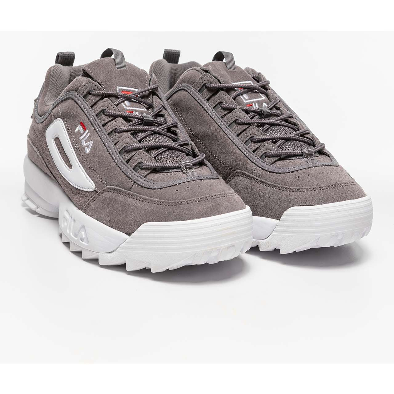 Buty Fila  <br/><small>DISRUPTOR S LOW 6QW MONUMENT GREY </small>  1010490-6QW