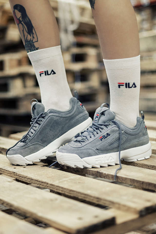 Buty Fila  <br/><small>DISRUPTOR S LOW WMN 6QW GREY </small>  1010436-6QW