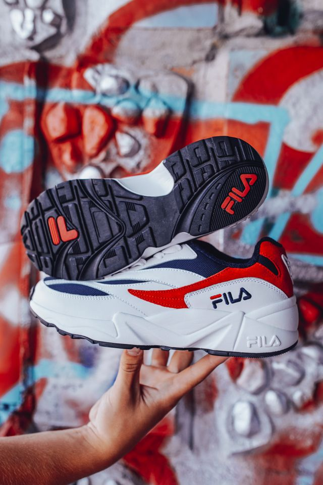 Fila V94M LOW 01M WHITE/FILA NAVY/FILA RED 1010255-01M