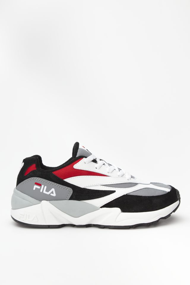 Fila V94M LOW 008 BLACK/WHITE/FILA RED 1010718-008