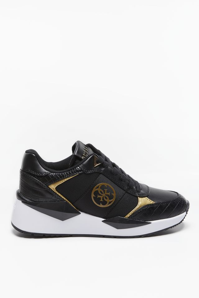 BLACK GOLD SNEAKERSY TESHA/ACTIVE LADY/LE FL5TESPEL12-BLKGO