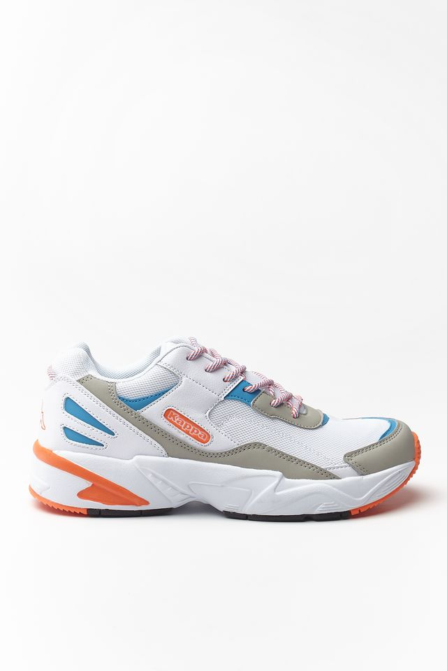 Kappa BOIZ 1044 WHITE/ORANGE 242857-1044
